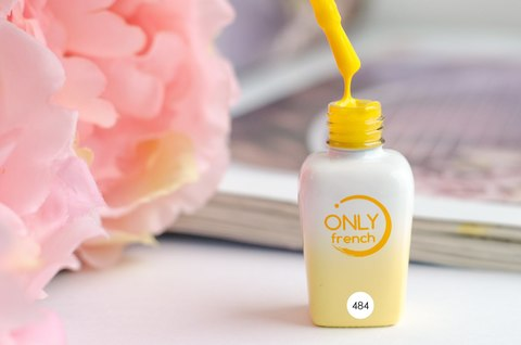 Гель-лак Only French, Yellow Touch №484, 7ml