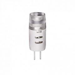 Лампа светодиодная (10032) G4 2W 3000K капсульная матовая LED-JC-2W/WW/G4/FR/S