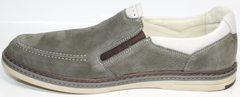 Мокасины мужские модные IKOC 3394-3 Gray.