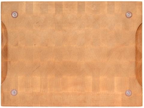 деревянная Торцевая разделочная доска 40x30x4 см. клен