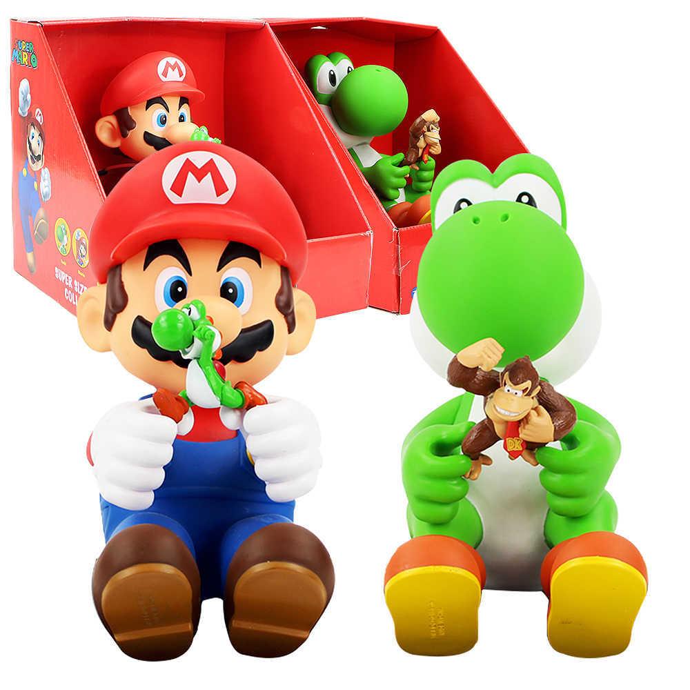 Супер Марио фигурки Марио и Йоши