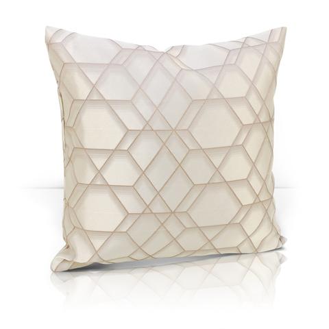 Подушка Алмаз светло-бежевый