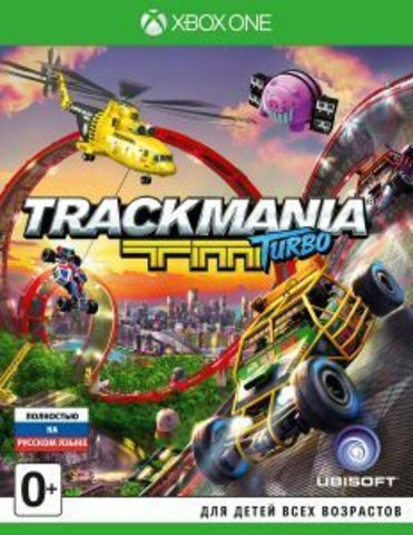 Microsoft Xbox One Trackmania Turbo (русская версия)