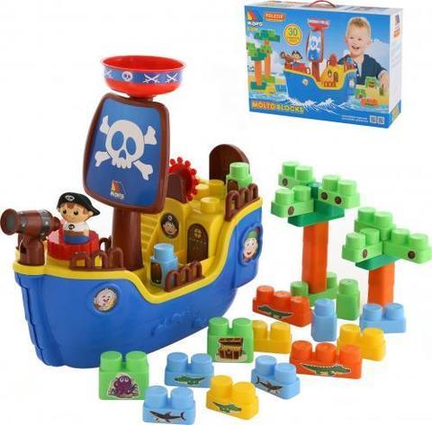 Набор Пиратский корабль+констр.30эл) в кор./62246