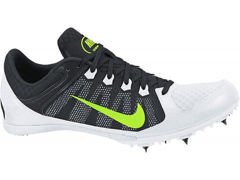 Nike Zoom Rival MD 7 White Шиповки на средние дистанции
