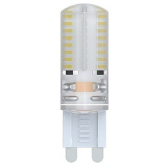Лампа светодиодная (10030) G9 2,5W 3000K капсульная прозрачная LED-JCD-2,5W/WW/G9/CL/S