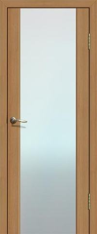 Дверь La Stella 301, стекло триплекс, цвет дуб сантьяго, остекленная
