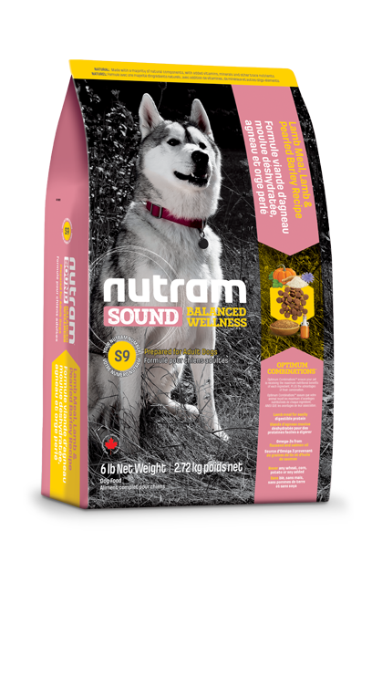 Сухой корм Корм для собак Nutram S9 с ягненком tpof8381i9q0.png
