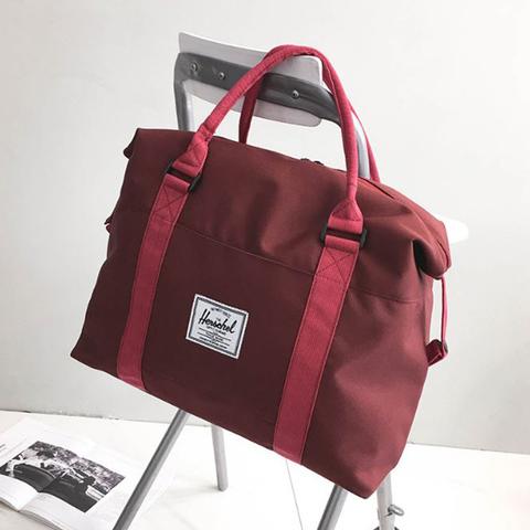Спортивная сумка Fitness2u-HL - бордовая