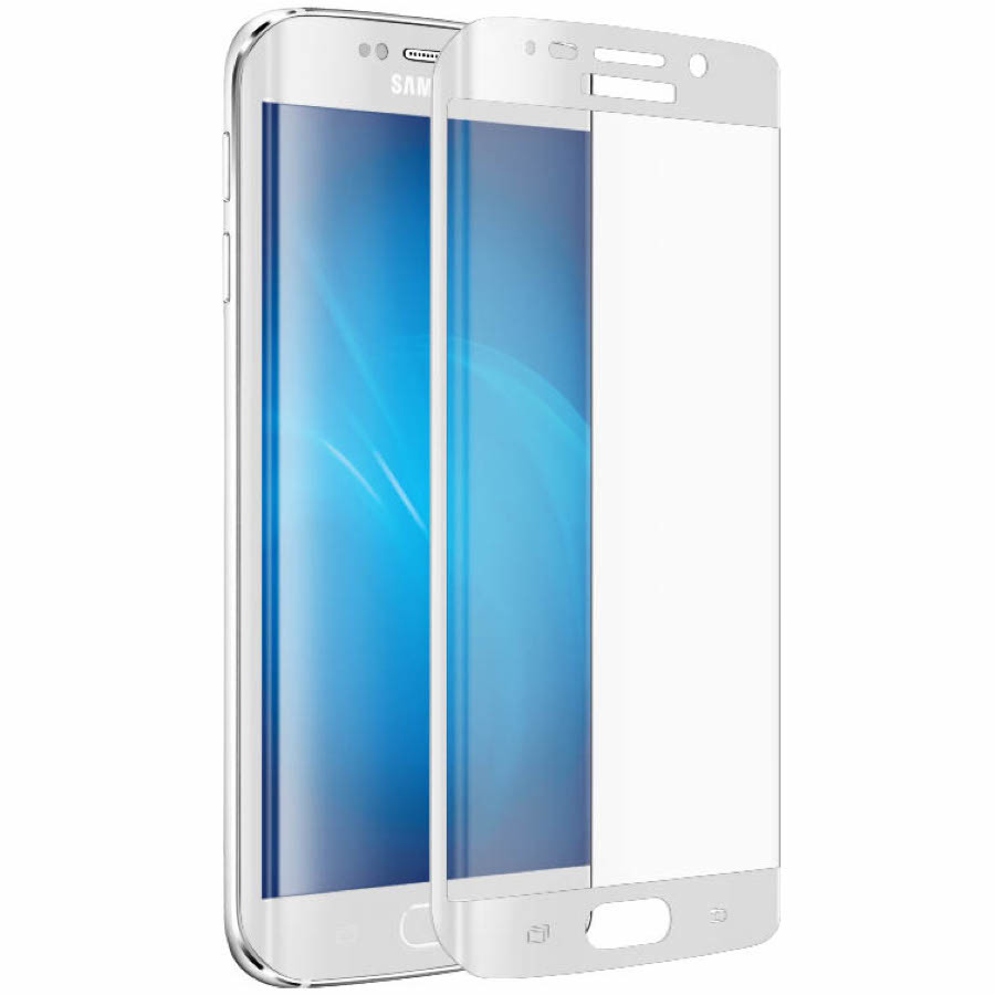 Защитное стекло Samsung Galaxy S7 EDGE White 3D - 1