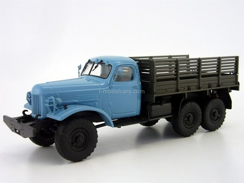 ZIL-157 blue-brown 1:43 DeAgostini Auto Legends USSR Trucks #6
