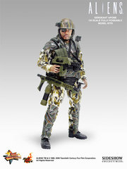Aliens - USCM Sergeant Apone 12 inch model kit