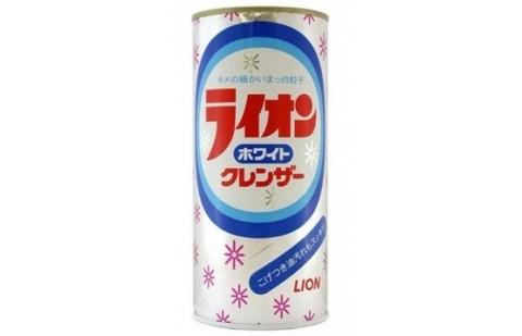 Чистящий порошок для кухни, Lion, White Cleanser, лимон, 400 гр