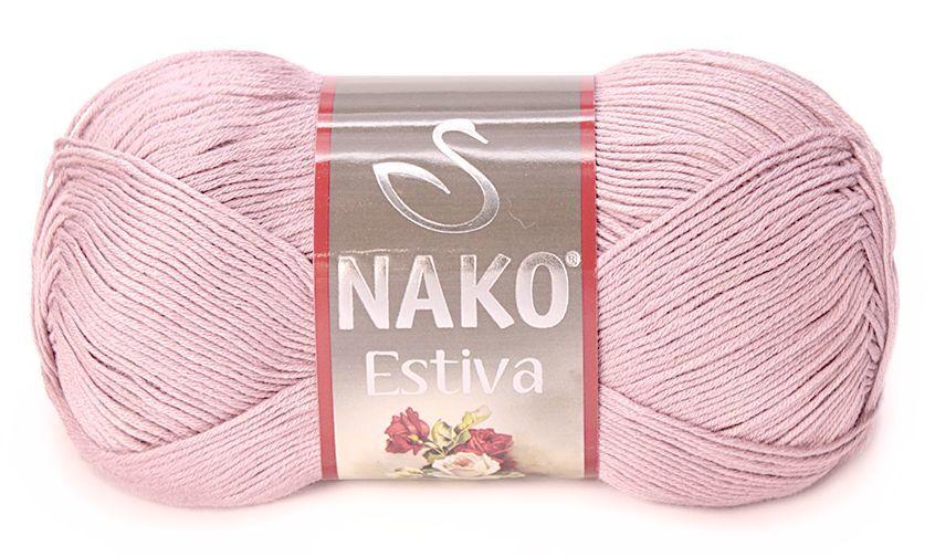 Пряжа Nako Estiva 11915 пудра