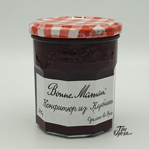 Конфитюр из клубники 50 % BONNE MAMAN, 370 гр