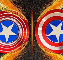 Металлический Спиннер капитан Америка