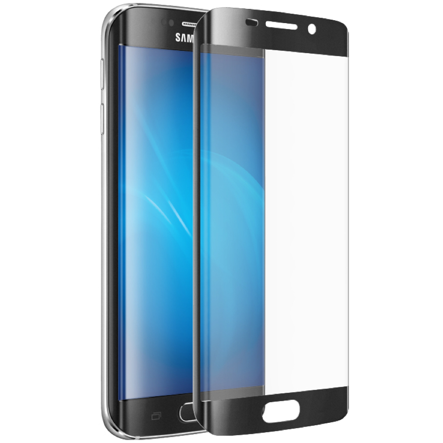 Защитное стекло Samsung Galaxy S7 EDGE Black 3D - 1