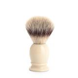 Помазок MUEHLE CLASSIC, фибра высшей категории Silvertip, смола, цвет слоновой кости, размер S (39 K 257)