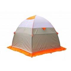 Зимняя палатка Лотос 3 Эко Оранжевая