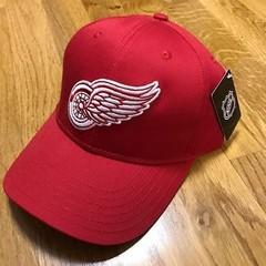 Кепка Детройт красная (Бейсболка Detroit Red Wings)