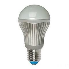 Лампа светодиодная (07100) E27 8W 3000K груша матовая LED-A60-8W/WW/E27/FR