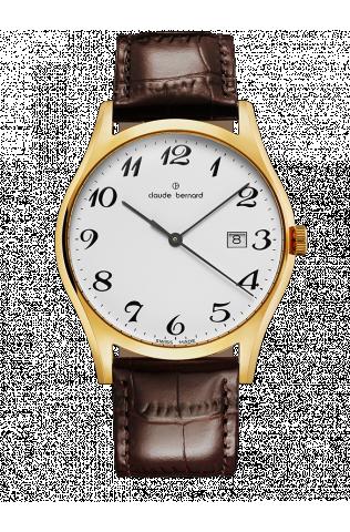 Купить мужские наручные часы Claude Bernard 53007 37J BB по доступной цене