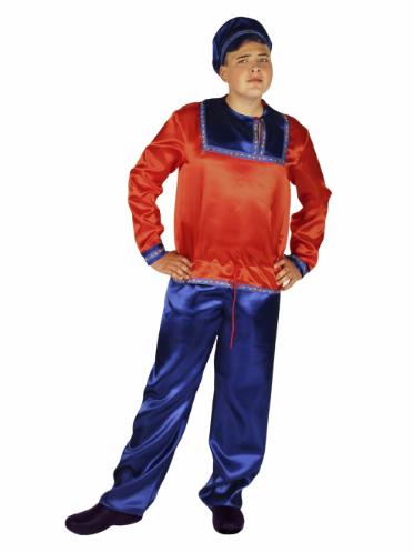 Карнавальный костюм взрослый Ванюша в красном