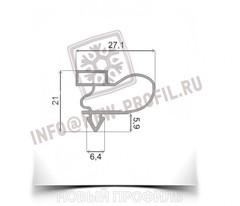 Уплотнитель 1510*570 см для торгового холодильного шкафа Стинол 222E. Профиль 018