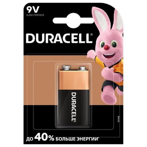 Батарейки DURACELL 6LR61-1BL/6LF22-1BL/Крона 9V бл/1