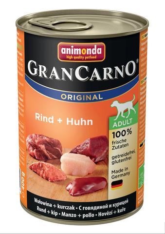 Консервы Animonda Gran Carno Original Adult с говядиной и курицей для взрослых собак