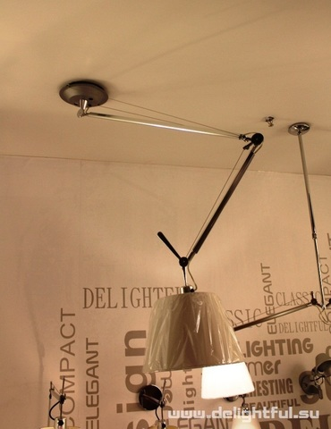 replica Artemide Tolomeo ceiling lamp by Michele De Lucchi