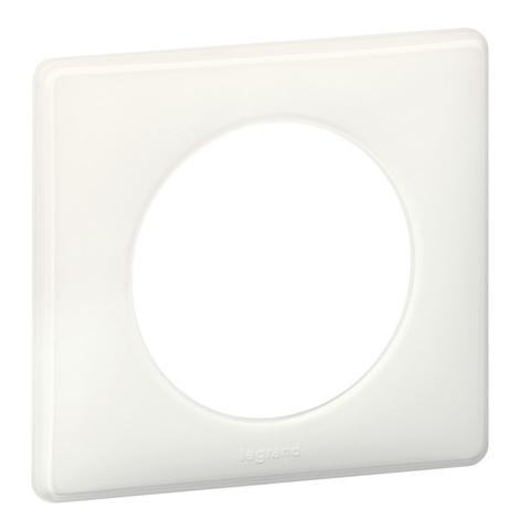 Рамка на 1 пост. Цвет Белый глянец. Legrand Celiane (Легранд Селиан). 066631