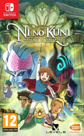 Nintendo Switch Ni no Kuni: Wrath of the White Witch (английская версия)