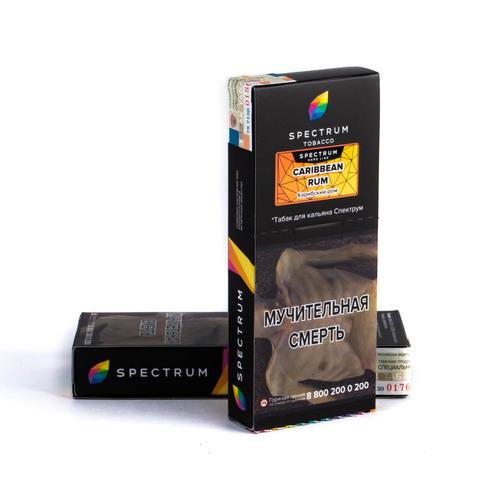Табак Spectrum Hard line Carribean Rom 100 г