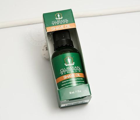 RAZ28004 Натуральное масло для бритья Clubman Shave Oil (30 мл)