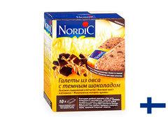 Галеты Nordic из овса с темным шоколадом, 300г