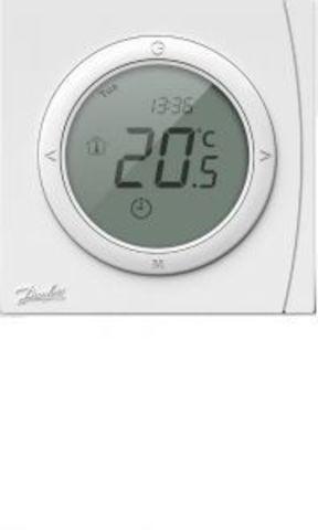 Терморегулятор для теплого пола. DEVIreg Danfoss тм ECtemp Next Plus с комбинацией датчиков, 16А 088L0121