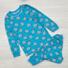 23D-1 пижама детская, голубая