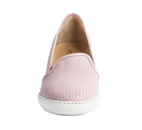 Лоферы L.Traini 12033 Розовый