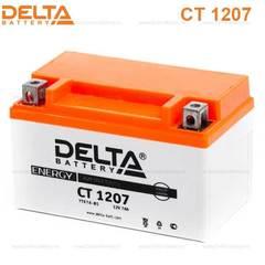 Аккумулятор DELTA 12V 7Ah (CT1207)