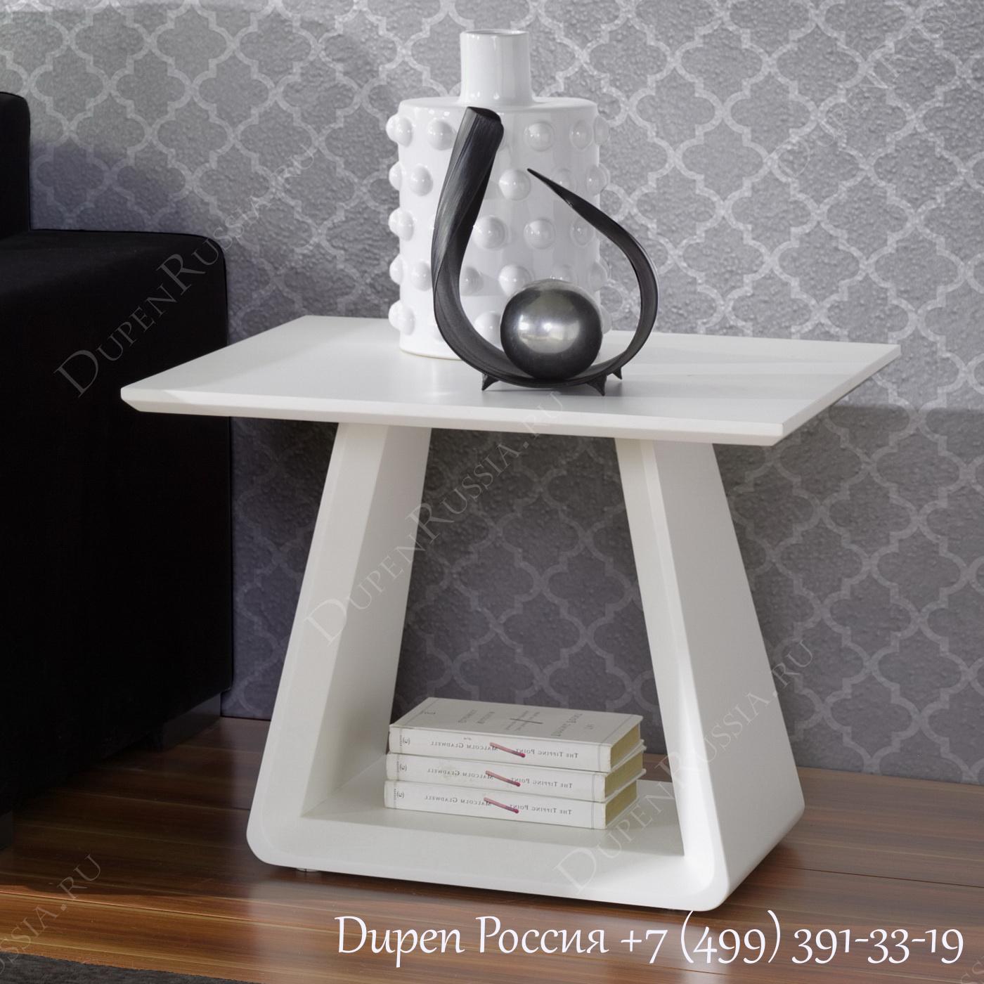 Журнальный стол DUPEN CT-223 Белый матовый