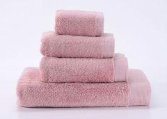 Seashells-3 розовое махровое  полотенце Valtery