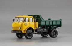 MAZ-509B dumper yellow-green 1:43 Nash Avtoprom