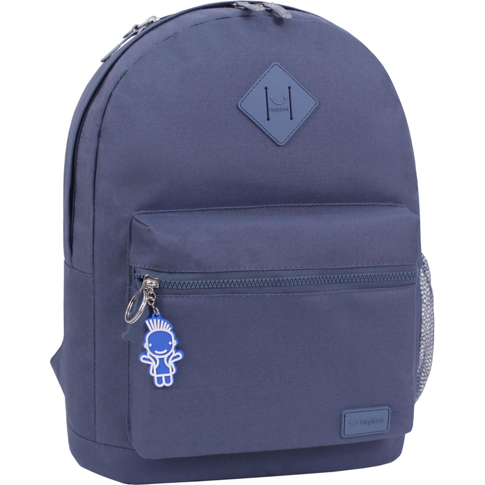 Городские рюкзаки Рюкзак Bagland Hood W/R 17 л. серый 458 (0054466) IMG_6178_суб.458_.JPG