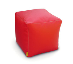 Пуфик куб Красный