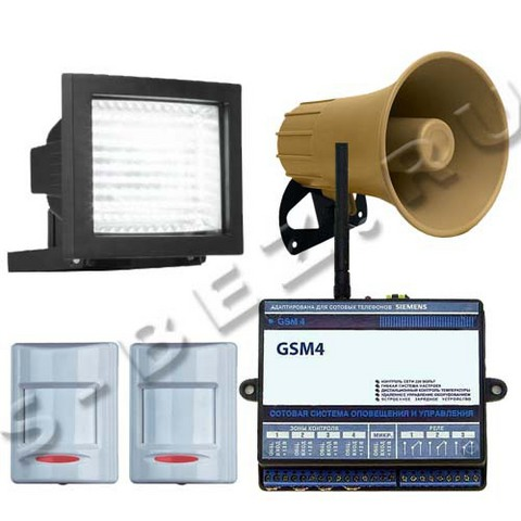 Комплект GSM-сигнализации