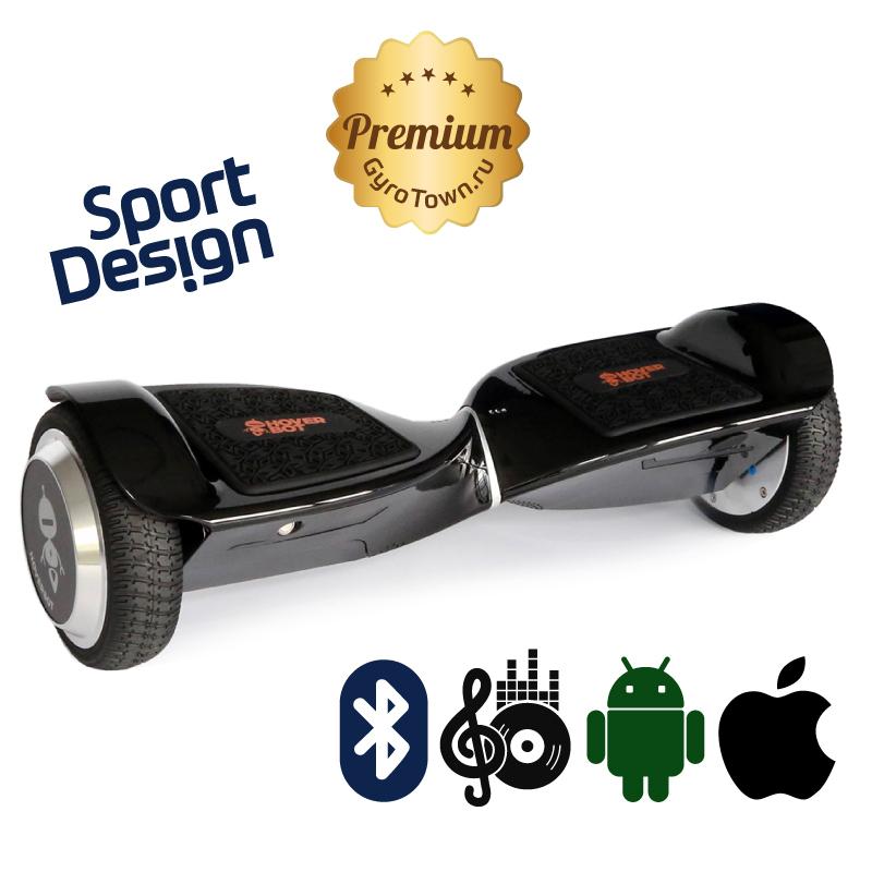Hoverbot A11R Premium (приложение + усиленная рама + съемная АКБ + Bluetooth-музыка + сумка) - 6,5 дюймов, артикул: 714673