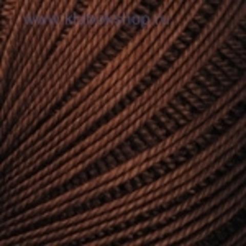 Пряжа YarnArt Lily цвет Шоколад 05