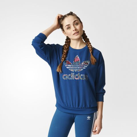 Свитшот женский adidas ORIGINALS TREFOIL SWEATSHIRT