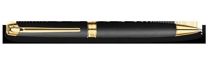 Carandache Leman - Black Matte GP, шариковая ручка, F